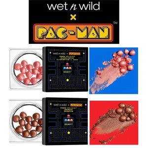 2x Wet N Wild Pac Man Power Pellets Bronzer Blush